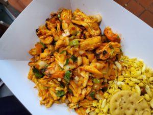 Chicken Sadheko