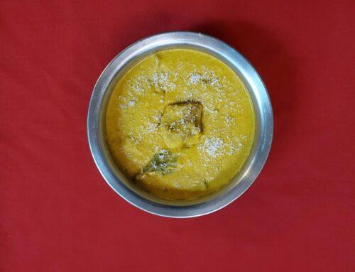 Introducing new item on menu – Chicken Madras